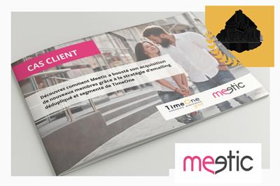 Cas client Meetic x TimeOne